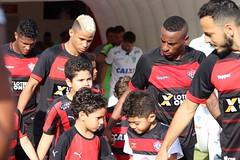 Mascotes / Hino - Vitória x América Mineiro - Fotos: Maurícia da Matta / EC Vitória