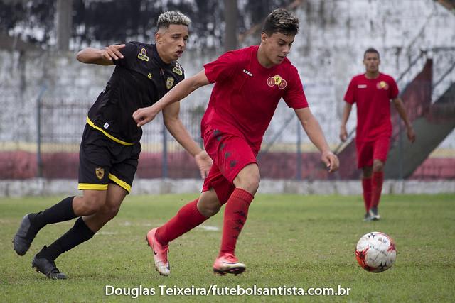 Jabaquara 1 x 0 Mauá. Jogo válido pela primeira fase do Campeonato Paulista Sub-20 da Segunda Divisão de 2018, disputado no dia 7 de setembro, no Estádio Espanha