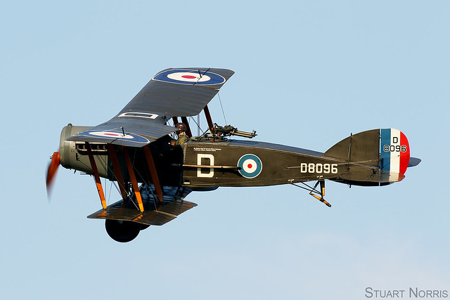 Bristol F2.b Fighter D8096 G-AEPH - The Shuttleworth Collection Old Warden