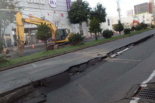 地震3日目