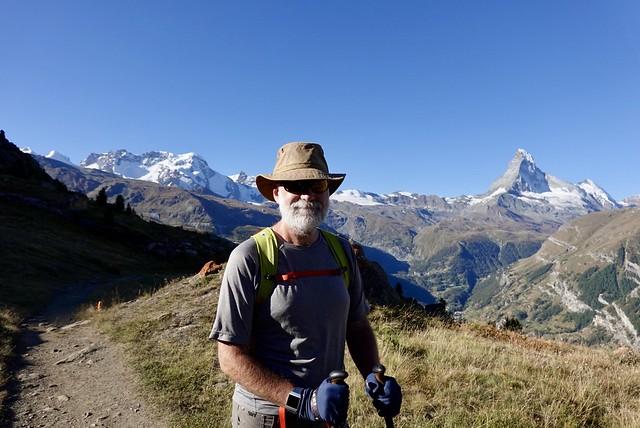 Europaweg above Zermatt