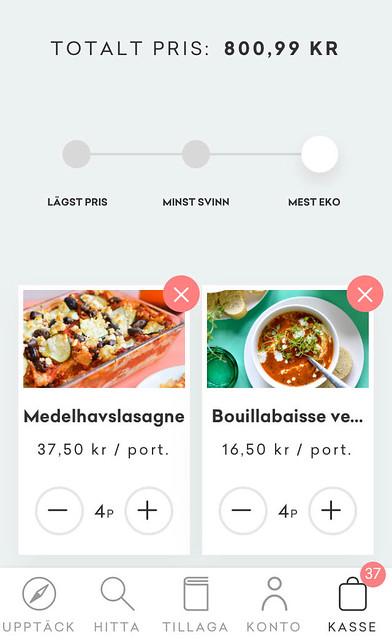 Gastrofy köpbara recept kassen