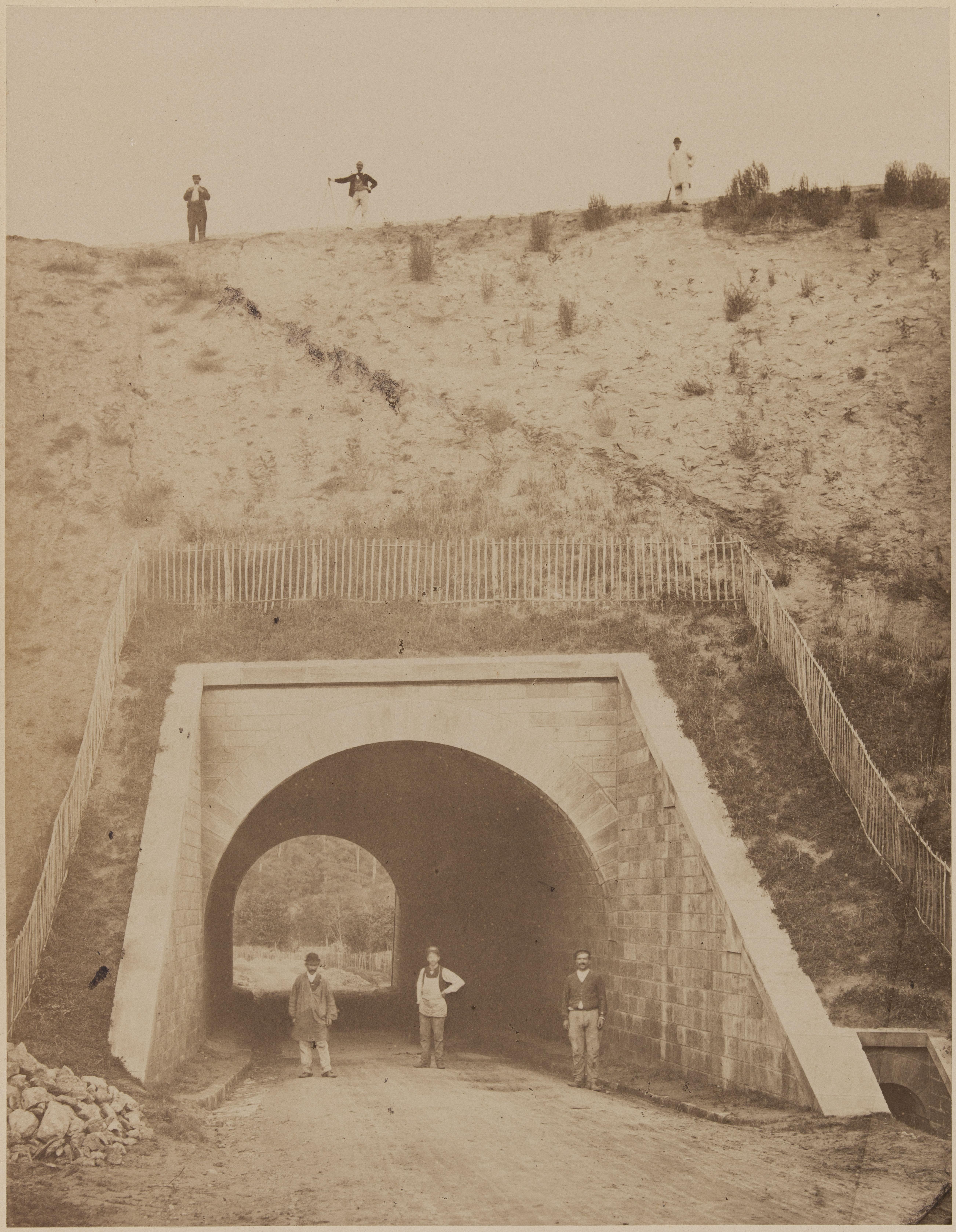 18. Нижний путепровод возле Монморанси