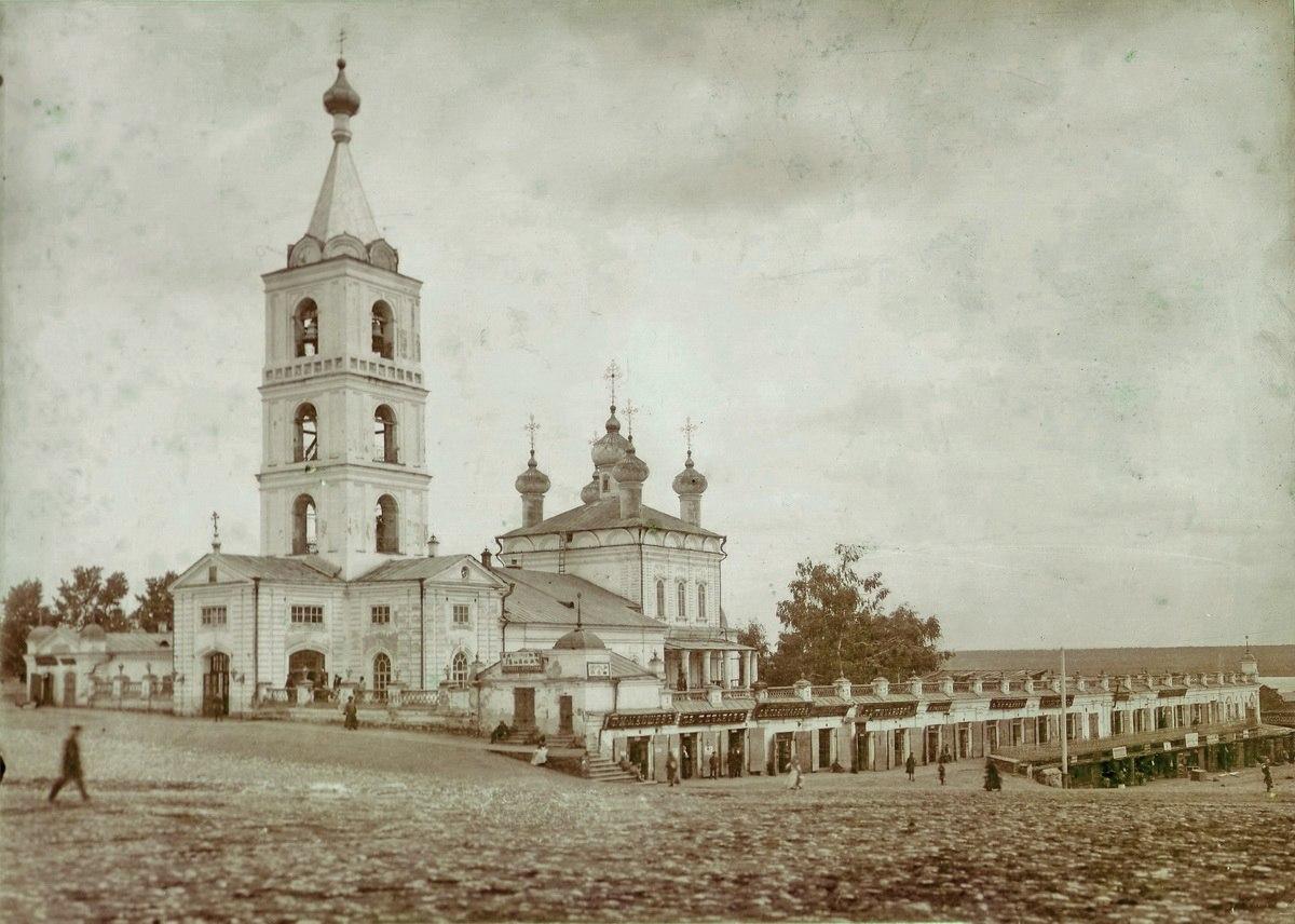 Соборная (Вознесенская) площадь. Вознесенский кафедральный собор