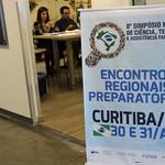 Encontro Regional Preparatório para 8º SNCTAF - CURITIBA