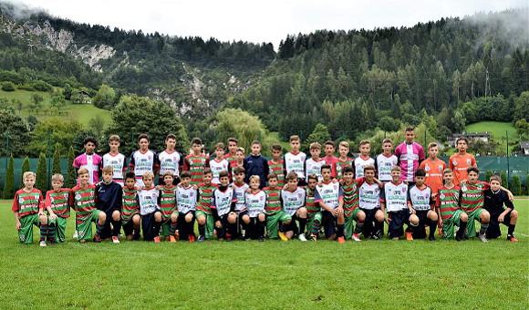 Giovanissimi 2005 in campo a Mezzano con l'Union Feltre