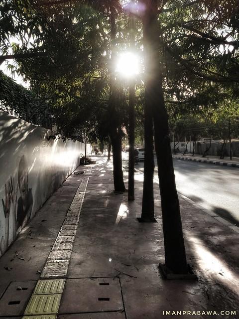 Jalan di Depan Arandra Residence