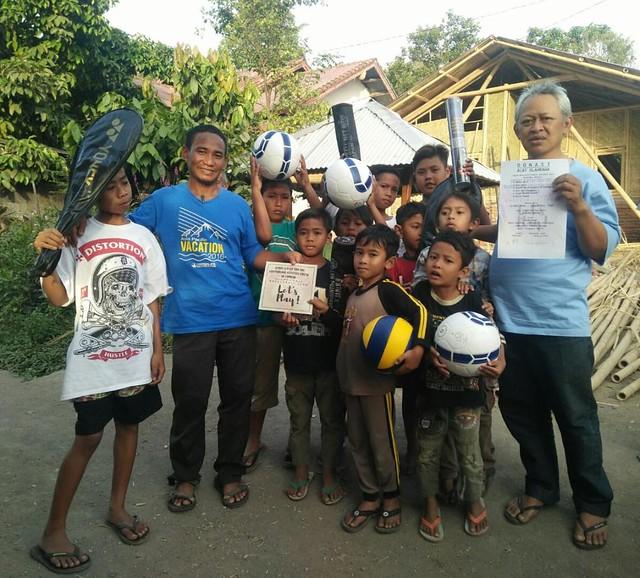 Dukungan Olahraga untuk Lombok