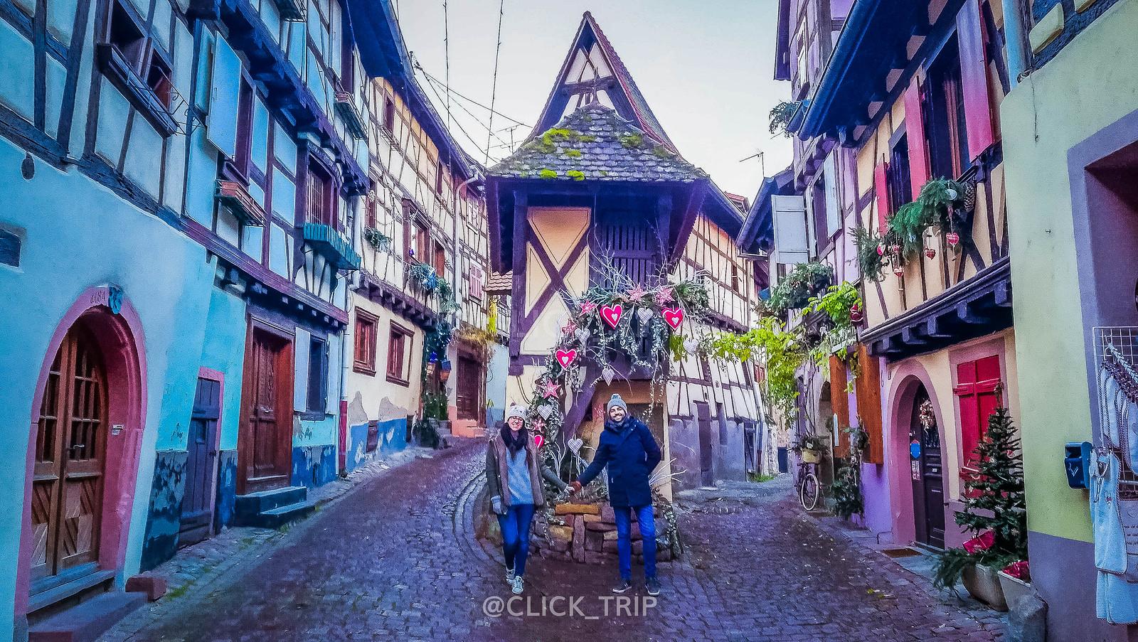 · Eguisheim, en nuestro recorrido por los pueblos más bonitos Alsacia en Navidad ·
