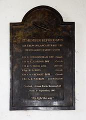 the crew of Lancaster BIII GTU 156 Squadron (Pathfinders)