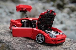 Toyota Supra - 16-wide - Lego