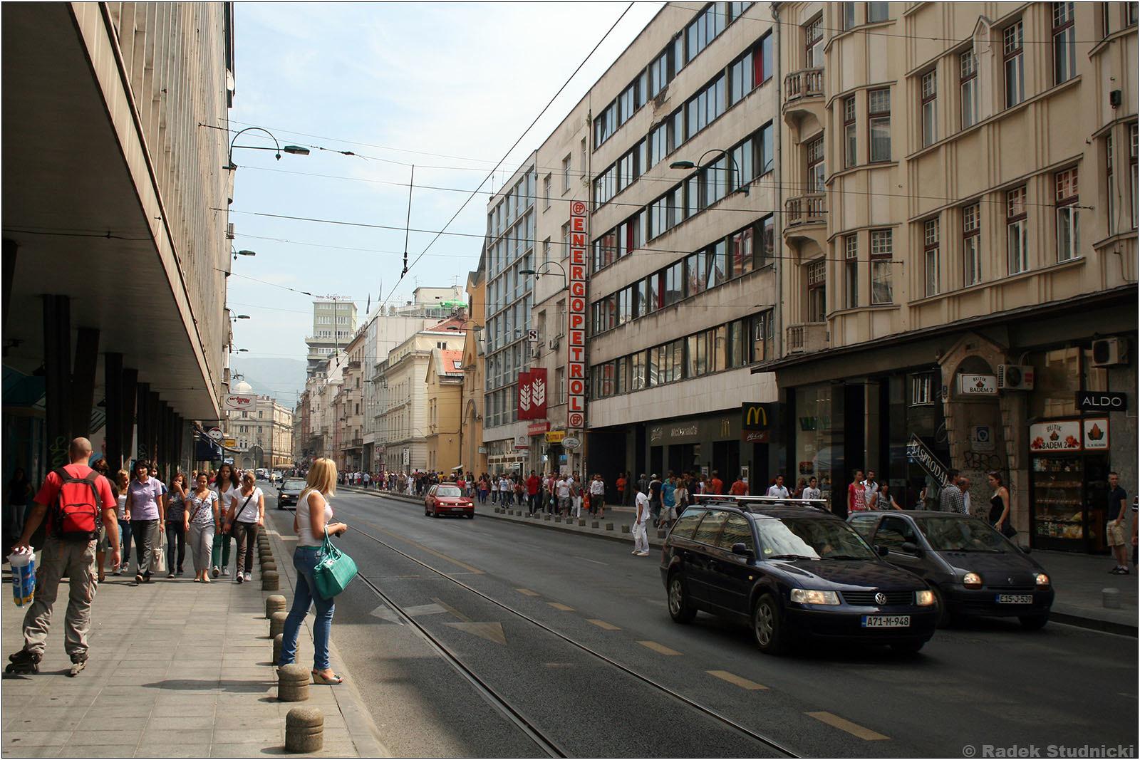 Nowoczesne dzielnice Sarajewa
