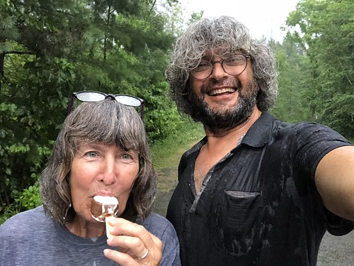 Fitzroy Provincial Park - Rain and ice cream