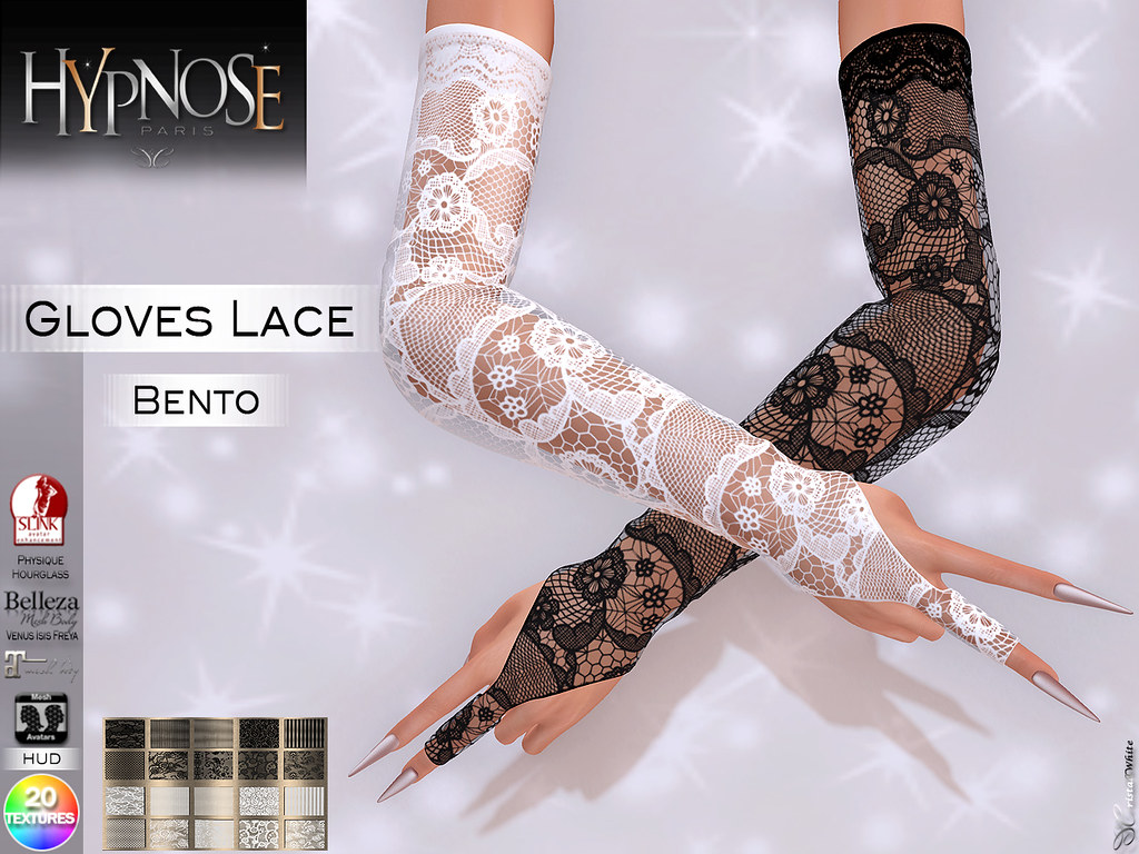 HYPNOSE – GLOVES LACE BENTO PACK