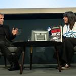 Jo Nesbo speaks to chair Lee Randall | © Alan McCredie