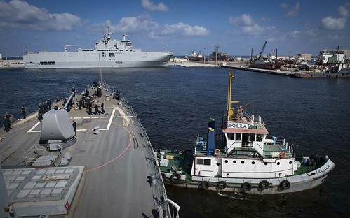 USS Carney Arrives in Alexandria, Egypt