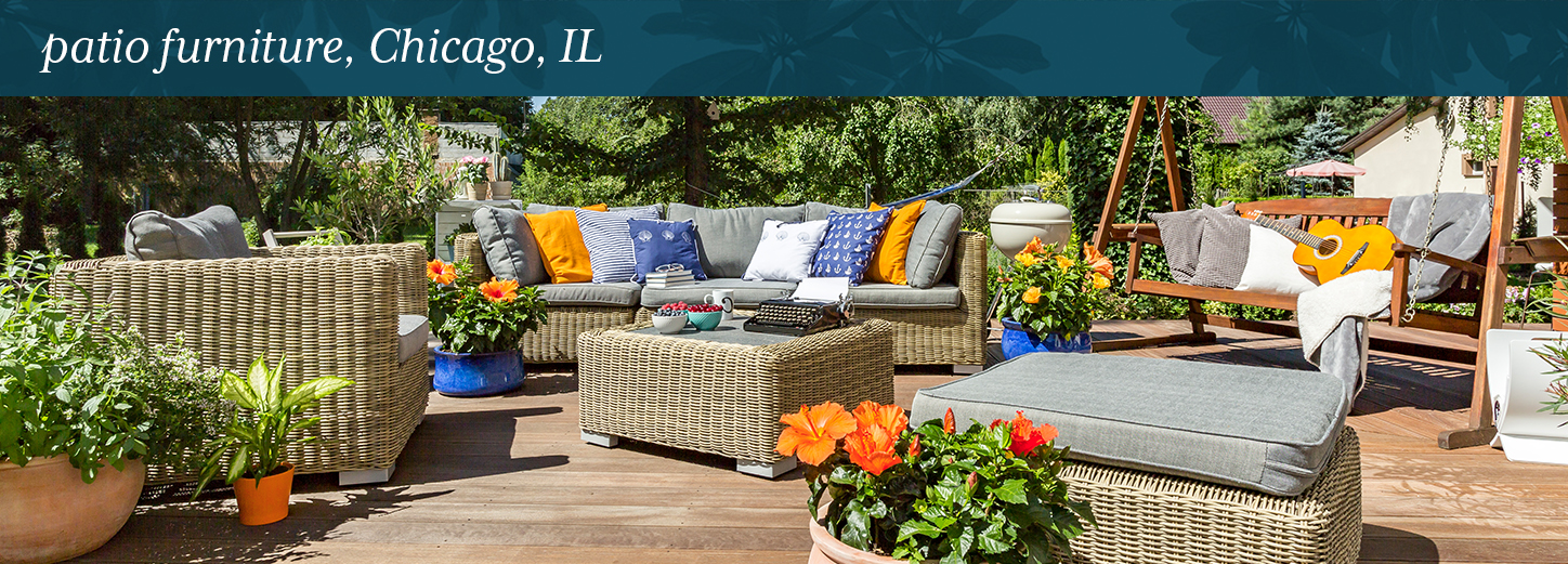 """Patio Furniture, Chicago, IL. """"patio. Your outdoor living space ... - Patio Furniture, Chicago, IL Lurvey Landscape Supply"""