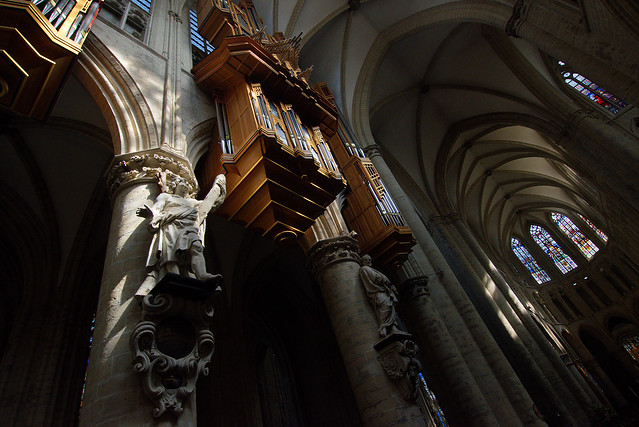St Michael and St Gudula Cathedral, Brussels, Aug 18