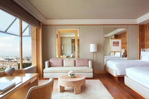 アフタヌーンティーで人気のホテル ザ リッツカールトン ミレニア シンガポール