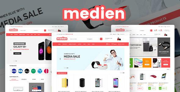 Medien v1.0.1 – Multipurpose WooCommerce Shop Theme