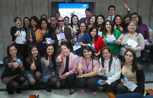 Evento de reconocimiento del Plan de Voluntariado de la Fase 1 de la Campaña #TodosABC