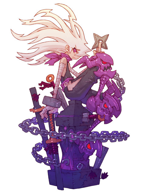 Dragon Marked For Death 忍びイラスト