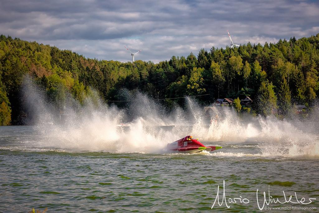 Motorboot-WM Kriebstein 2018
