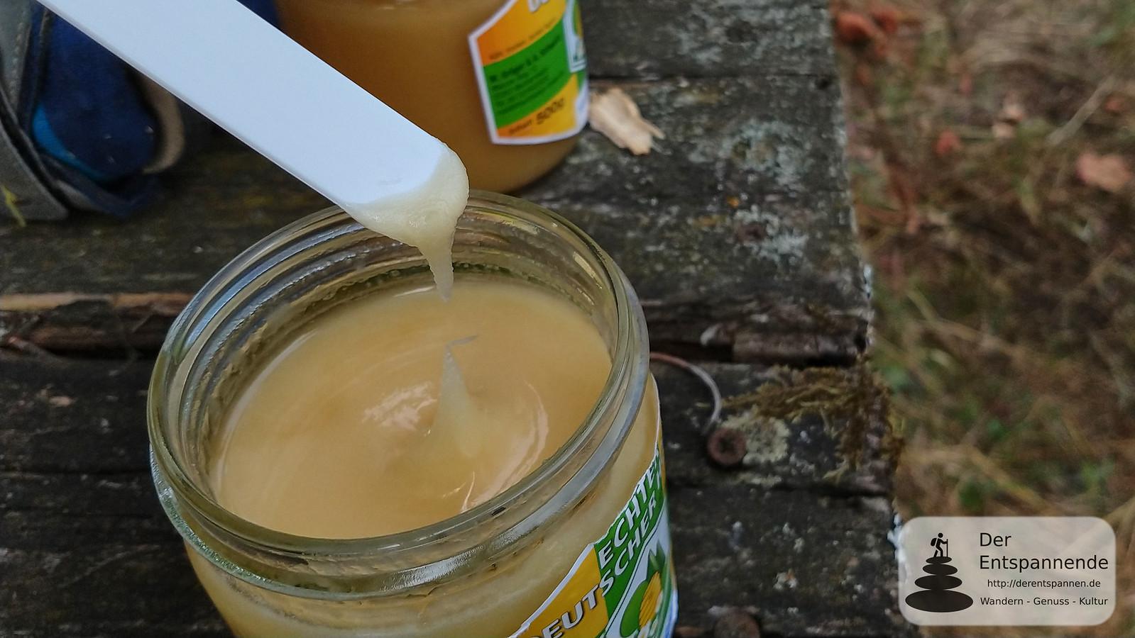 Honigprobe bei Rheinhessen-Imker