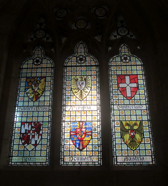 Stained Glass Window, Rochdale Town Hall