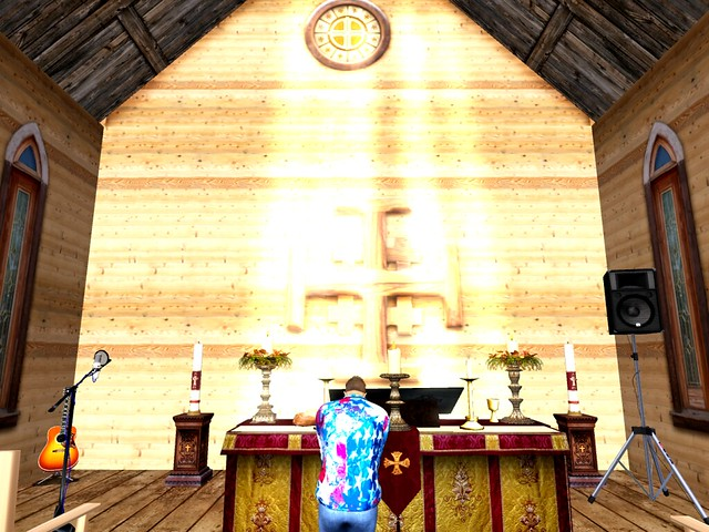 Church Sanctuary - Giving Thanks For the New Day Coming