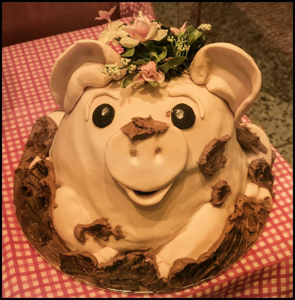Piggy Cake - Brisbane Arcade-1=
