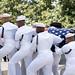 Sen. John McCain is buried at Arlington National Cemetary.
