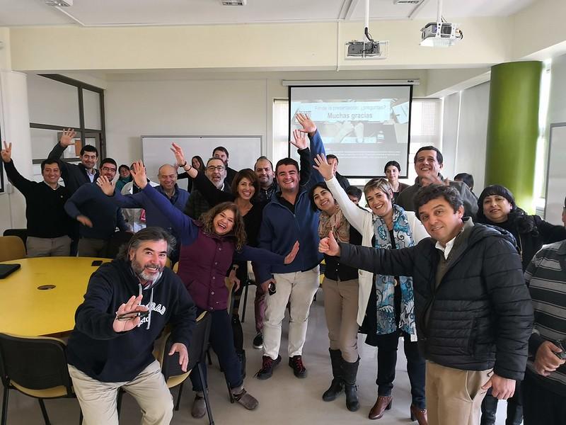 Estancia académica sobre e-learning, TICs, innovación y formación de profesorado en Universidad Federico Santa María, Chile, agosto 2018