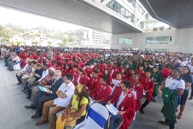 Evento de Promoción de la fase I, Campaña TODOS ABC Monseñor Leonidas Proaño - Esmeraldas