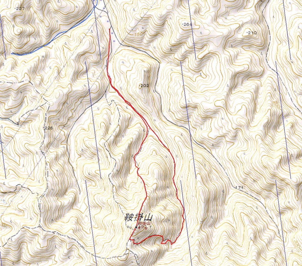 Mt. KURAKAKEYAMA MAP and DATA