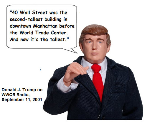 Donald Trump on September 11th