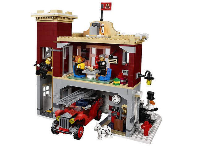 10263 Winter Village Fire Station 4