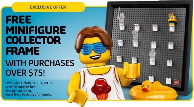 Darmowa ramka na Minifigurki LEGO