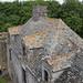 Château fort de Pirou : le toit du vieux logis
