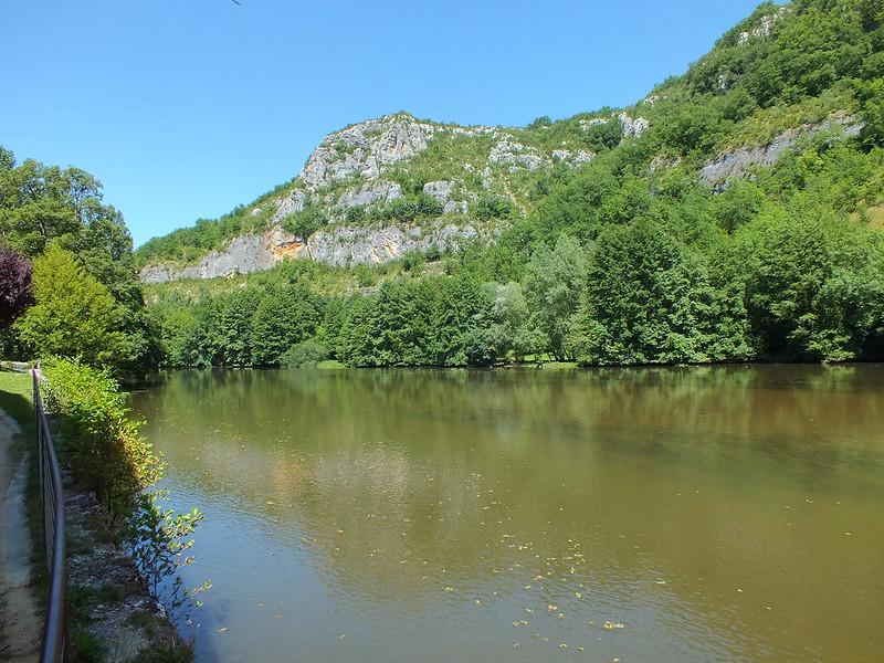 Marcilhac-sur-Célé - Le Célé (bourg)
