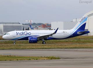 F-WWBJ Airbus A320 Neo Indigo