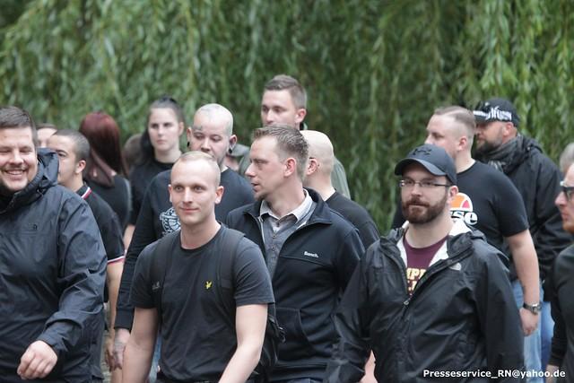 2018.09.09 Koethen - Rechter Trauermarsch und Antifa-Proteste (28)