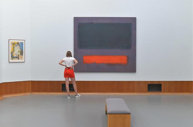 Mark Rothko, Musée Boijmans van Beuningen, Rotterdam, 2018
