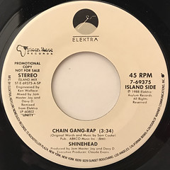 SHINEHEAD:CHAIN GANG-RAP(LABEL SIDE-A)
