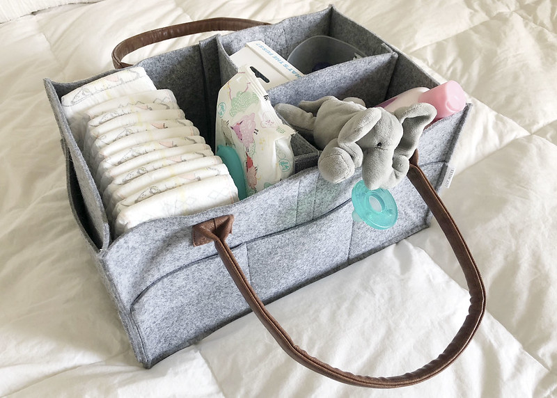 Diaper Caddy Nursery Storage