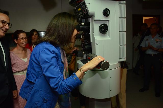 Visita de la Ministra, Nikon D7100, AF-S DX Zoom-Nikkor 18-135mm f/3.5-5.6G IF-ED
