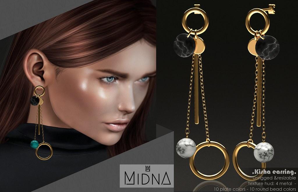 Midna – Kisha Earring