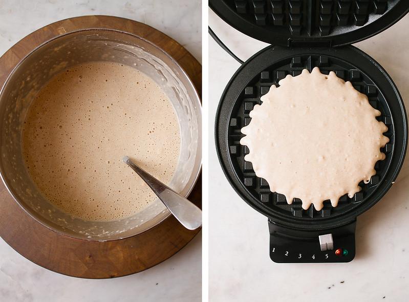 Eggless Vegan Waffles