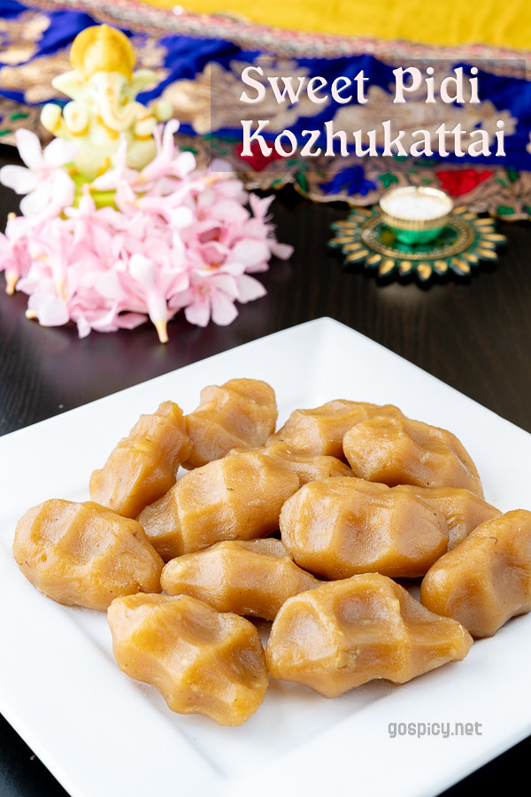Sweet Pidi Kozhukattai Recipe by GoSpicy.net
