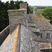 Les toits du château de Pirou